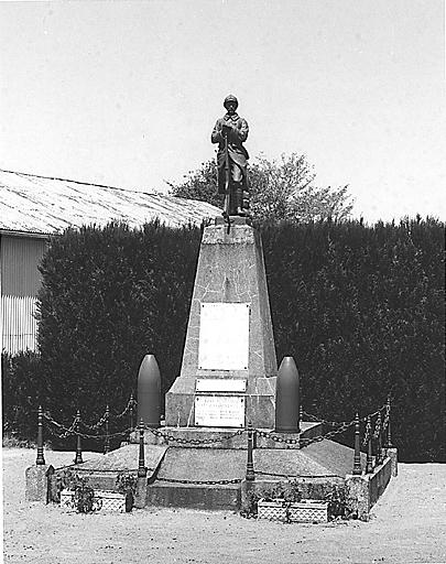 photo pour monument aux morts de la guerre de 1914-1918