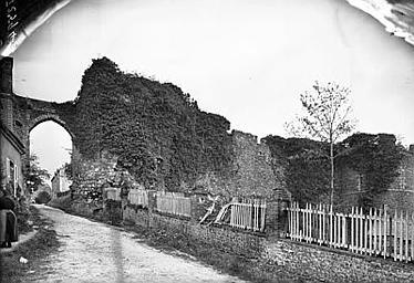 photo pour Ruines de l'ancien château
