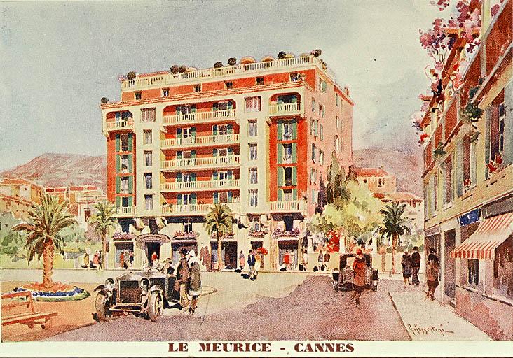 photo pour hôtel de voyageurs dit Hôtel Meurice, puis Palais Meurice