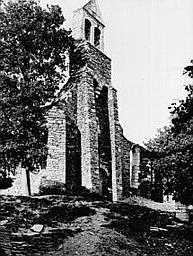 photo pour Ruines de la chapelle de la Madeleine