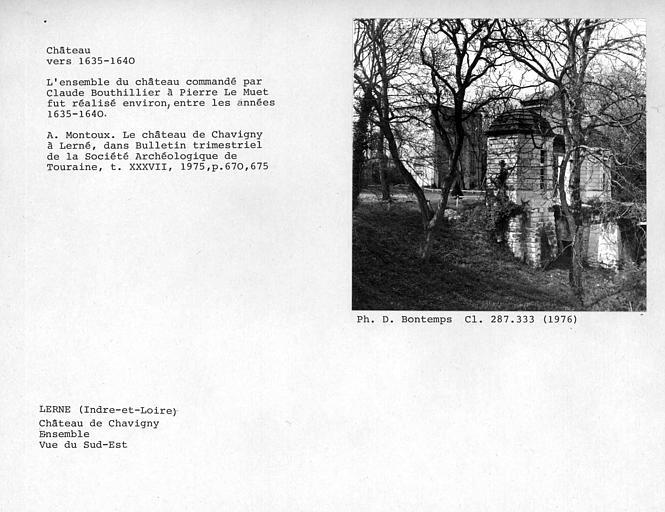 photo pour Château de Chavigny