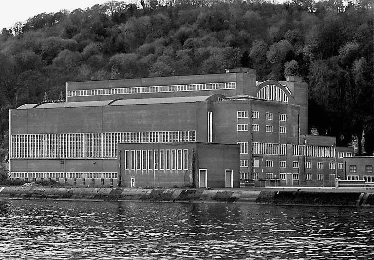 photo pour centrale thermique de Dieppedalle, actuellement magasin industriel EDF