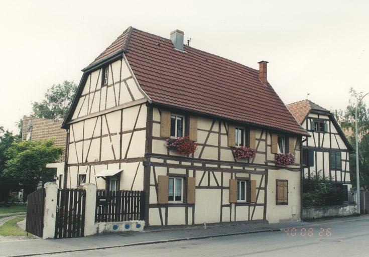 photo pour présentation de la commune de Jebsheim