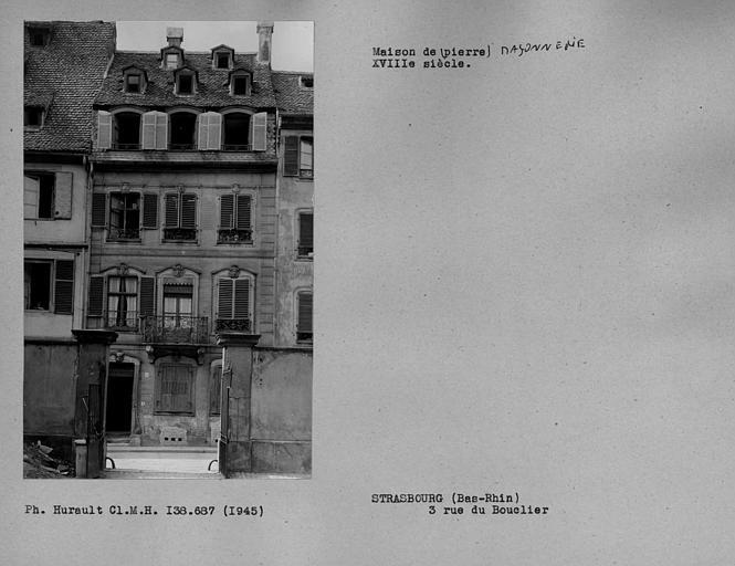 photo pour Ancienne Maison Baer