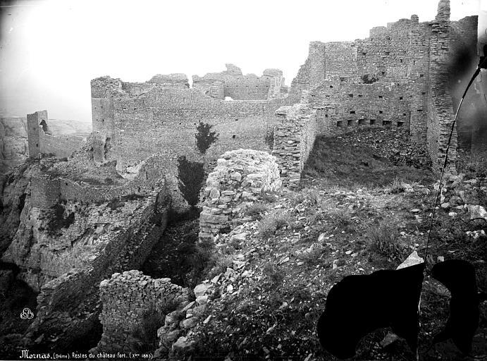 photo pour Restes du château