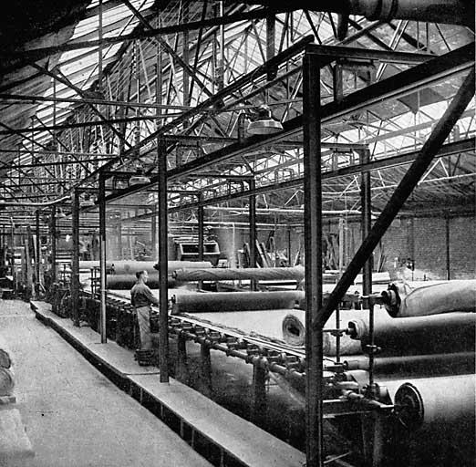 photo pour usine de teinturerie et de blanchiment Denis; puis usine de feutre Kleinhans et Hacart