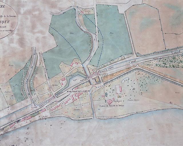 photo pour site d'écluse de l'Aubois (canal latéral à la Loire)