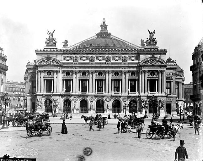 photo pour Théâtre national de l'Opéra ou opéra Garnier