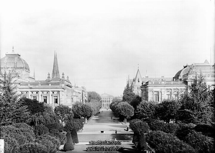 photo pour Ancien Palais impérial allemand ou Kaiserpalatz, dit Palais du Rhin