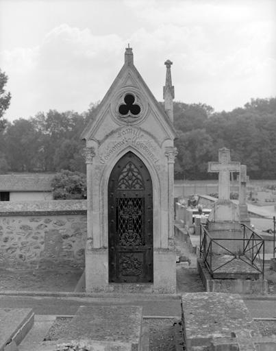 photo pour chapelle funéraire de la famille Cossonnet