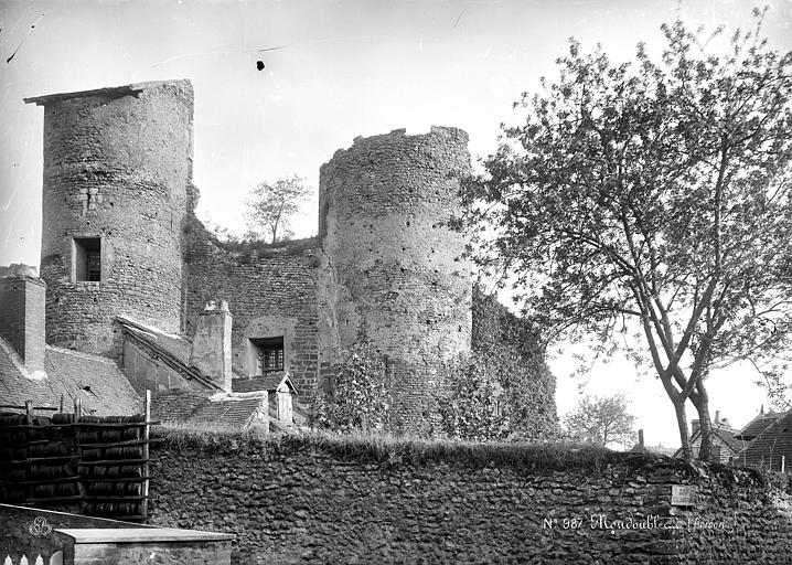 photo pour Vestiges de fortifications de ville