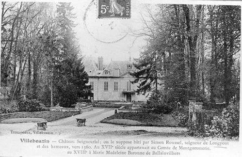 photo pour château de Villebouzin, actuellement maison de repos