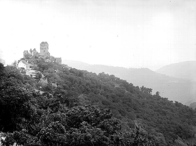 photo pour Château de Vallon (ruines)