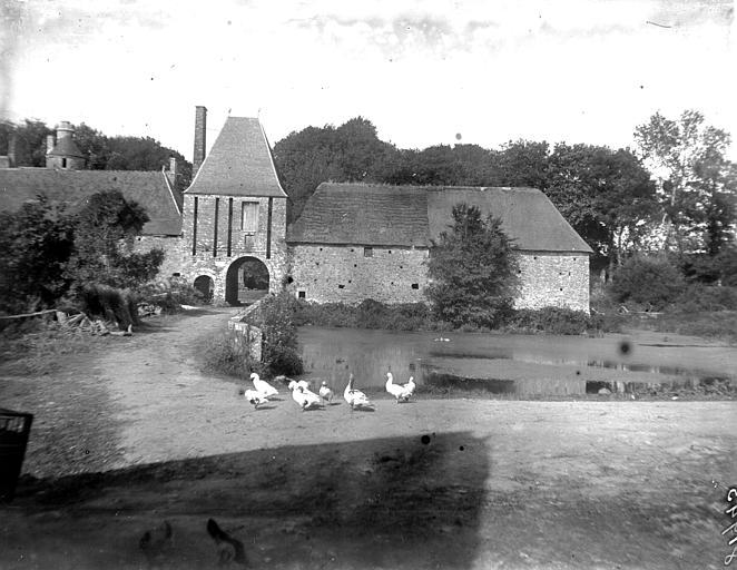 photo pour Ancien château de Gratot