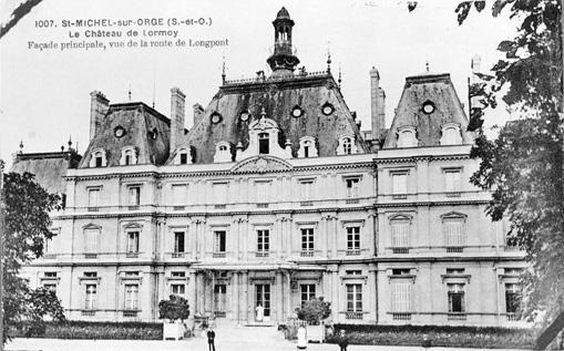 photo pour château de Lormoy, actuellement maison de retraite